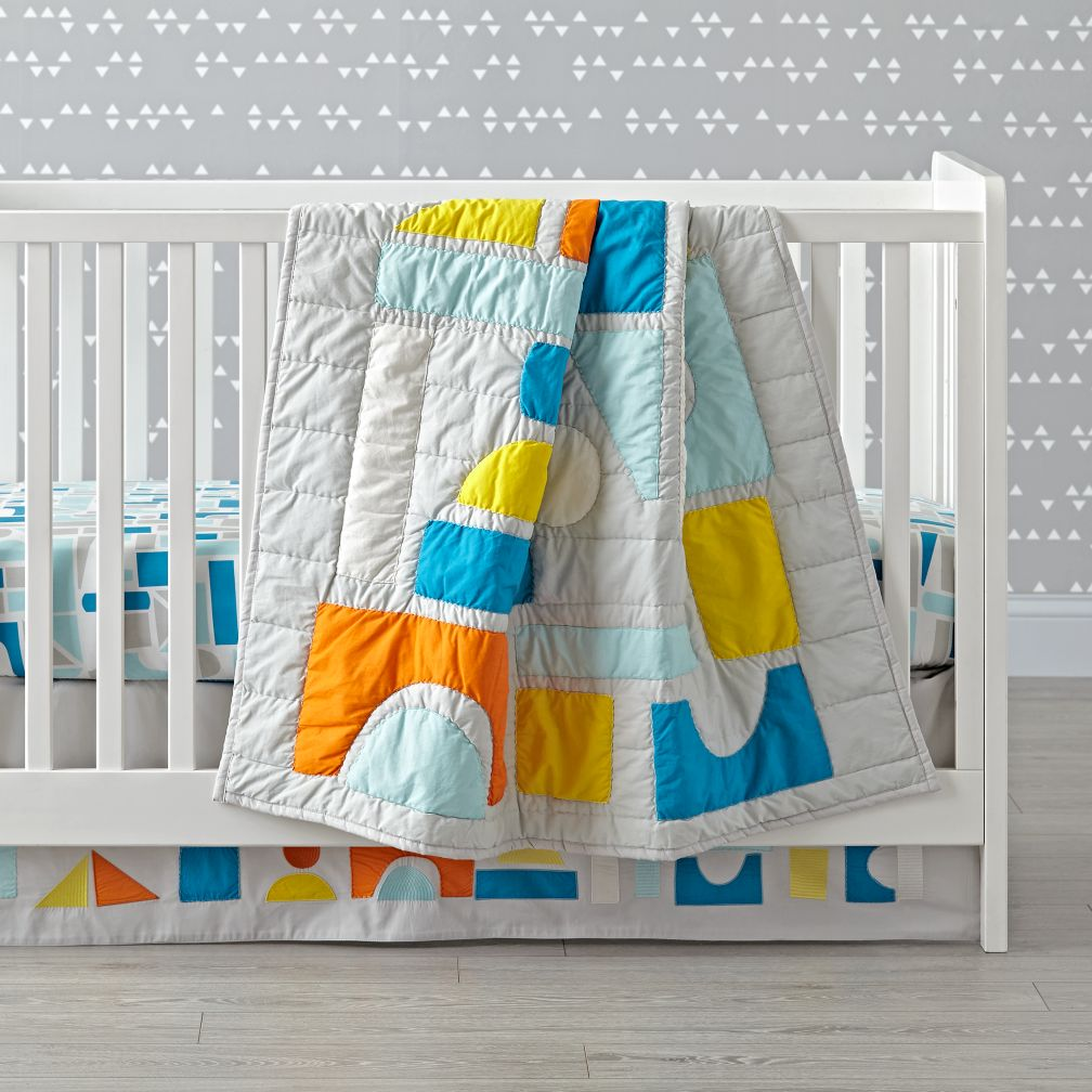 Block Party Crib Bedding