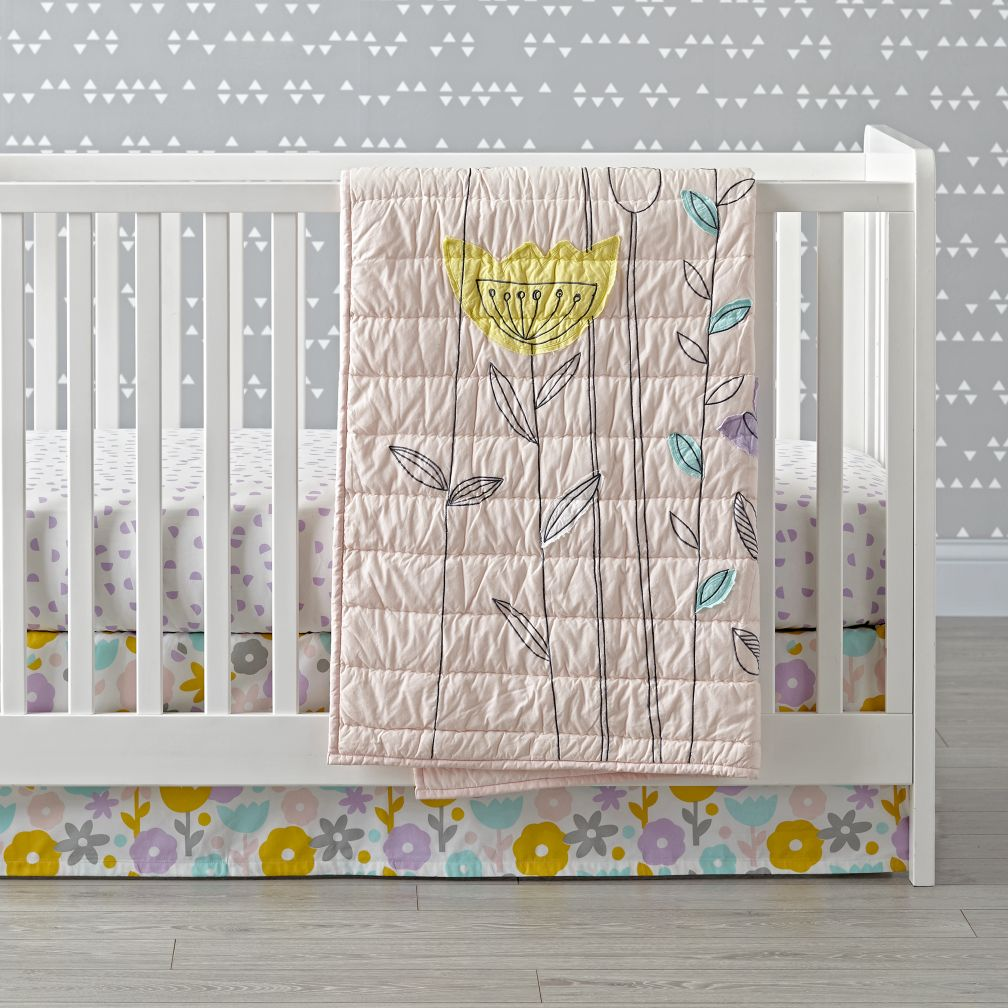 Floral Suite Crib Bedding
