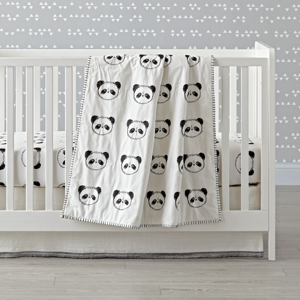 Panda Crib Bedding