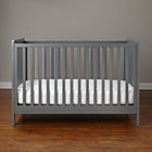 Grey Carousel Crib
