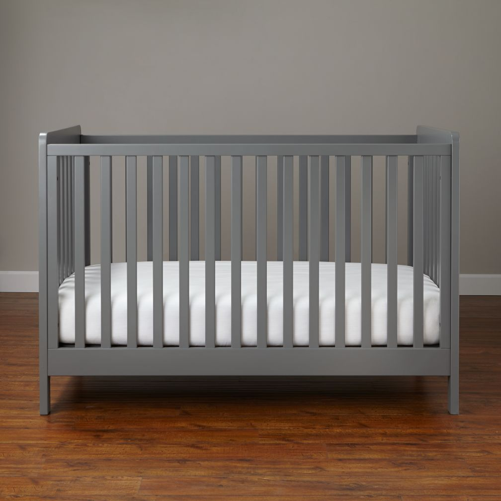 11 Affordable Grey Cribs. Furniture ideas for the nursery.