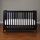 Midnight Blue Carousel Crib