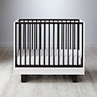 Elevate Mini Crib & Mattress Set.