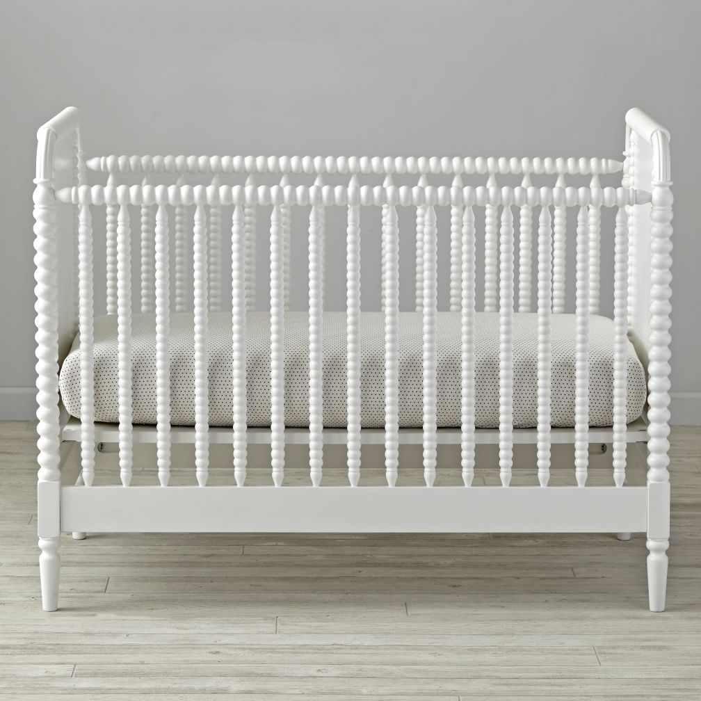 Contemporary white wooden jenny lind crib for your baby to sleep - Jenny Lind White Crib The Land Of Nod