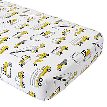 Organic Builder's Crib Fitted Sheet