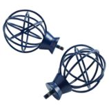 Set of 2 Cage Finials