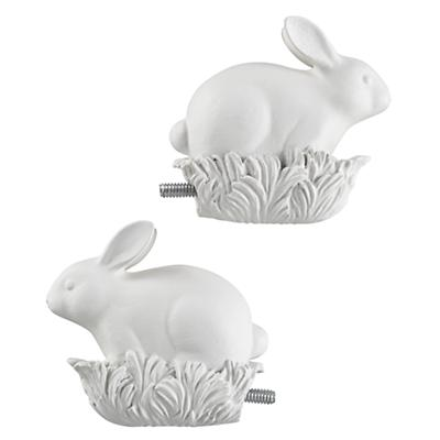 Bunny Finials (Set of 2)