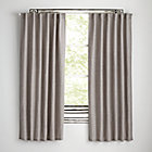 "63"" Grey Fresh Linen Curtain(Sold Individually)"