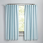 "63"" Light Blue Fresh Linen Curtain(Sold Individually)"
