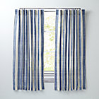 "63"" Blue Line Up Curtain"