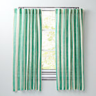 "63"" Green Line Up Curtain"