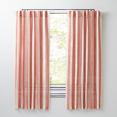 Line Up Curtains (Red)