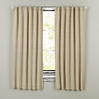 "84"" Natural Fresh Linen Curtain (Sold individually)"