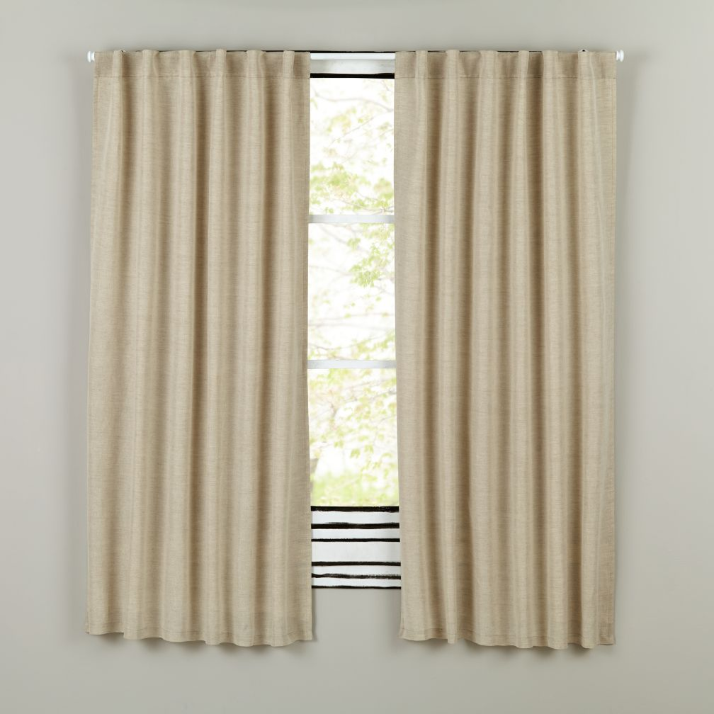 Fresh Linen Curtains (Natural)