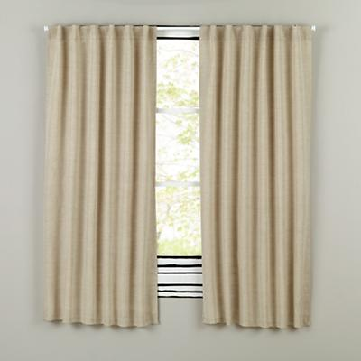 "96"" Fresh Linen Curtain (Natural)"