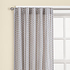 "63"" Khaki Dot Curtain (Sold individually)"
