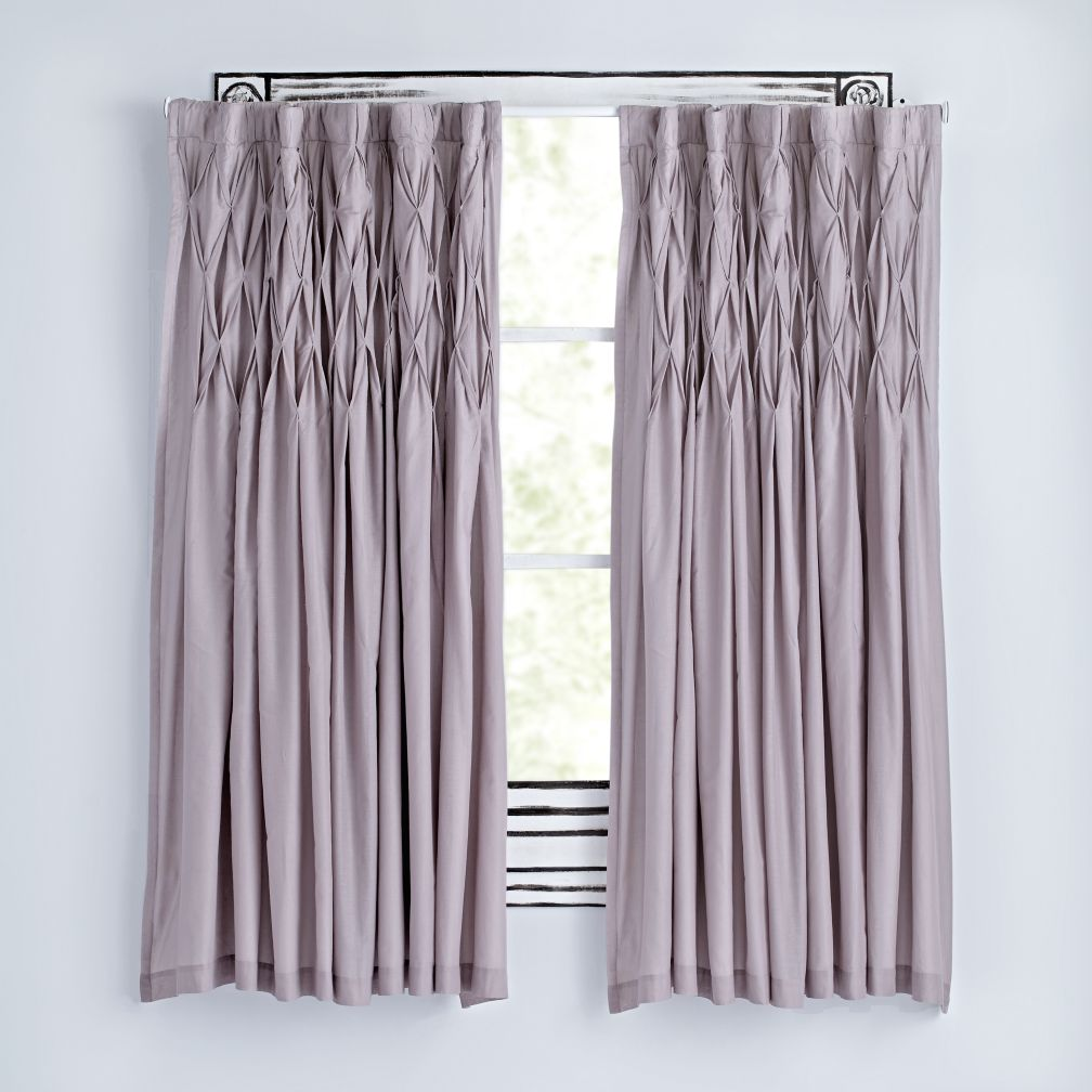 "84"" Modern Chic Curtain (Grey)"