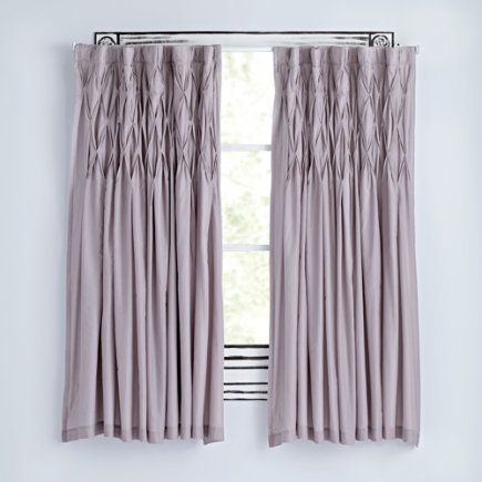 63 Grey Modern Chic Curtain(Sold Individually)