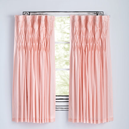 63 Pink Modern Chic Curtain (Sold Individually)