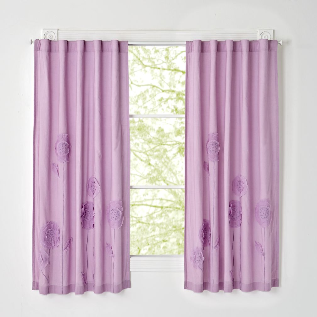 Flower Bed Curtains