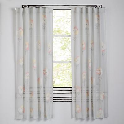 """63"""" Hop on Poppies Curtain"""