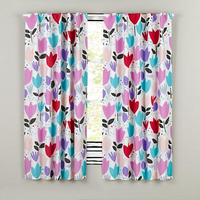 "84"" Tulip Festival Blackout Curtain"