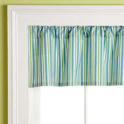 Morning Zoo Valance (Blue)