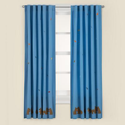 "63"" Bright Eyed, Bushy Tailed Curtain Panel"