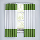"96"" Dark Green Color Edge Curtain (Sold Individually)"