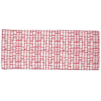 Modern 3-Cube Bench Cushion (Pink)