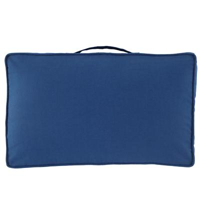 "27"" Laying Low Cushion (Blue)"