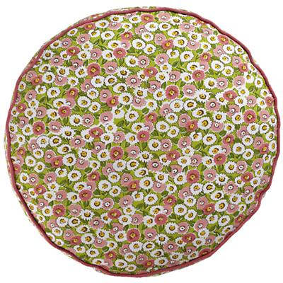 "22"" Floral Stack Floor Cushion"