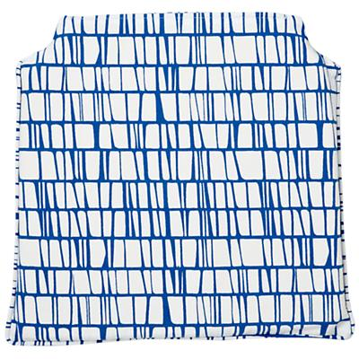 Modern Storage Chair Cushion (Blue)