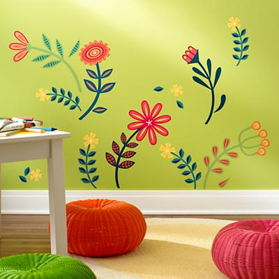 When In Bloom Wall Decal