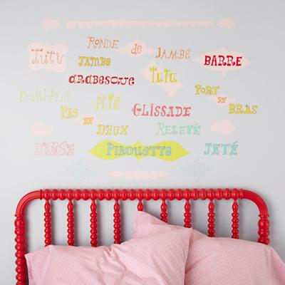 May I Please Plié Wall Decals
