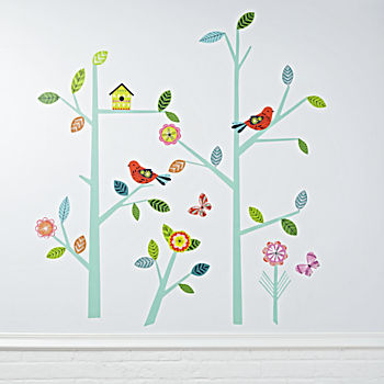 Blooming Tree Decal