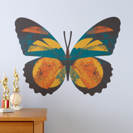 Colorful Butterfly Wall Decals 2
