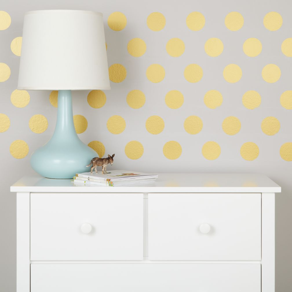 Lottie Dots Decal (Gold)