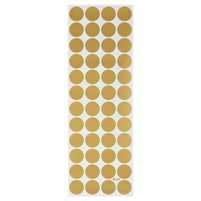Lottie Dots Gold Metallic Decal