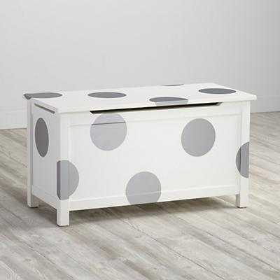 Geometric Furniture Decal (Silver Dot)