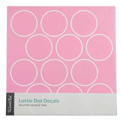 Lottie Dots Pink Decal