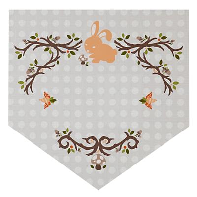 Fable Monogram Wall Decal (Bunny)