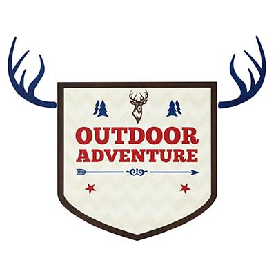 Adventure Monogram Decal (Outdoor)