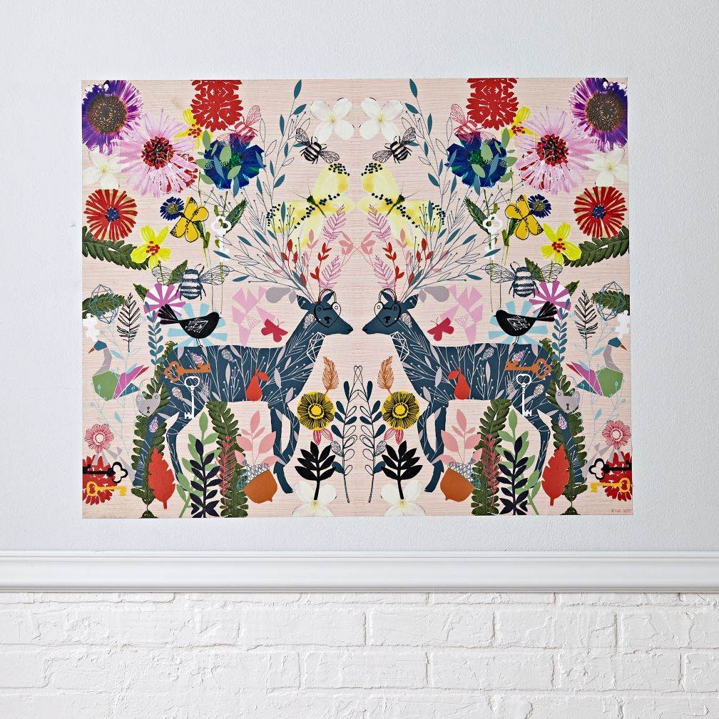 Hyper Lush Poster Decal