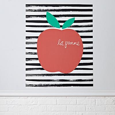 Decal_Poster_La_Pomme