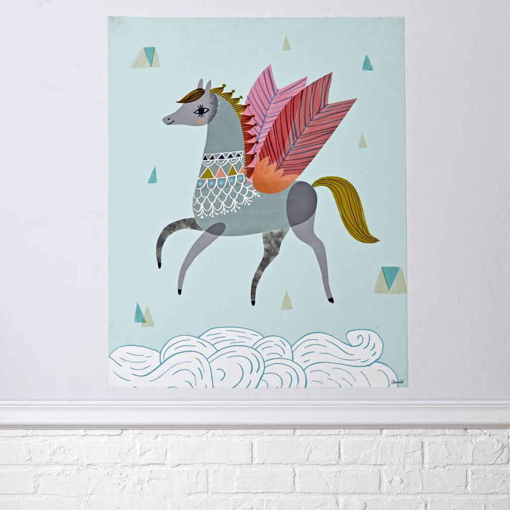 Pretty Pegasus Poster Decal