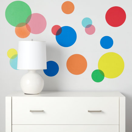 See Clearly Circular Wall Decals - See Clearly Decals