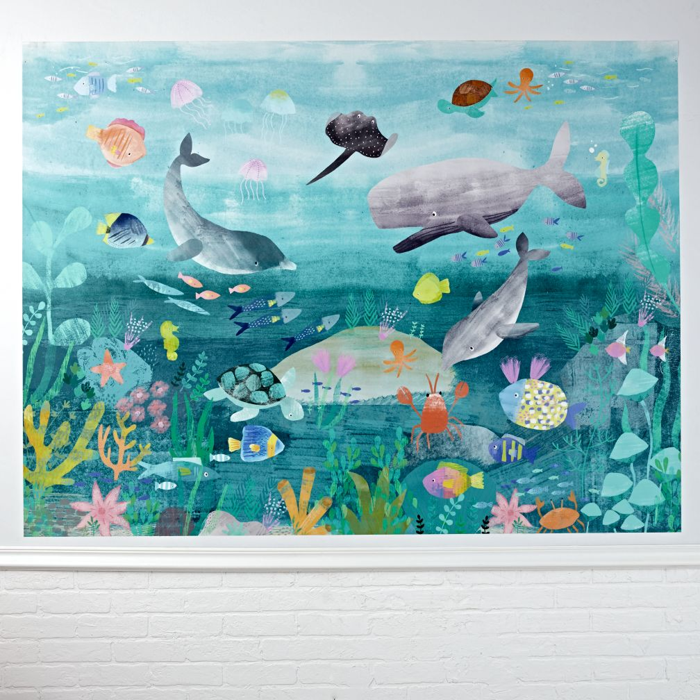 Under The Sea Mural Wall Decal Land Of Nod