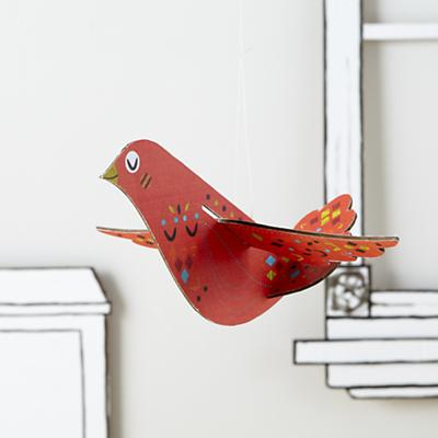 Hang Your Bird High (Red)
