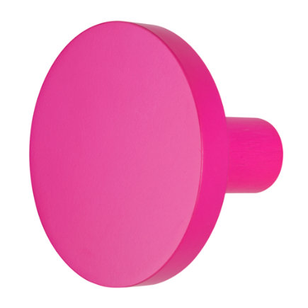 Pink Cant Miss Wall Knob